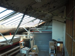 industrial warehouse - structural inspection report